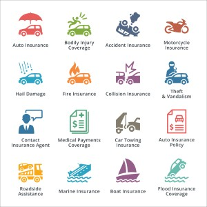 Insurance products for home and vehicles DPC