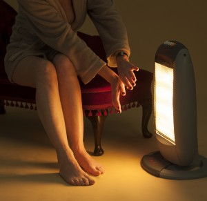 Take precautions during winter with heaters and fireplaces